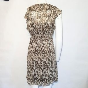 Lilly Lou Dresses - Animal Print Dress with Belt